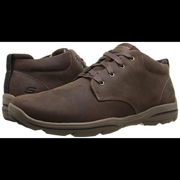 2f5d2b5e5dab Skechers USA Harper Meldon Chukka Boot Chocolate